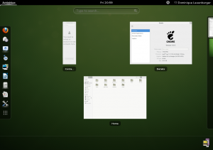 GNOME 3.6 Session